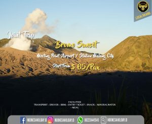 Join Trip bromo sunset